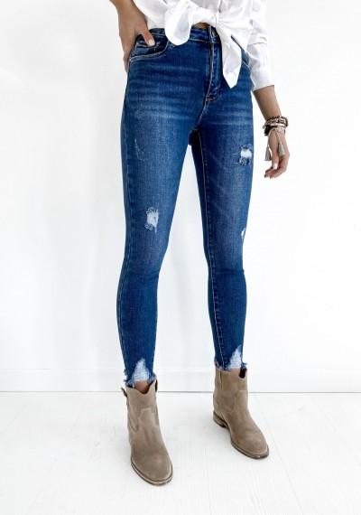 Klasyczne Spodnie Jeansowe z dziurami JOEY 1