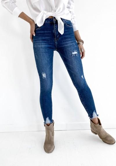 Klasyczne Spodnie Jeansowe z dziurami JOEY 2