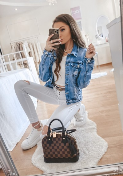 Kurtka jeansowa VERO