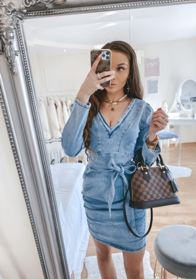 Sukienka jeansowa SARAH