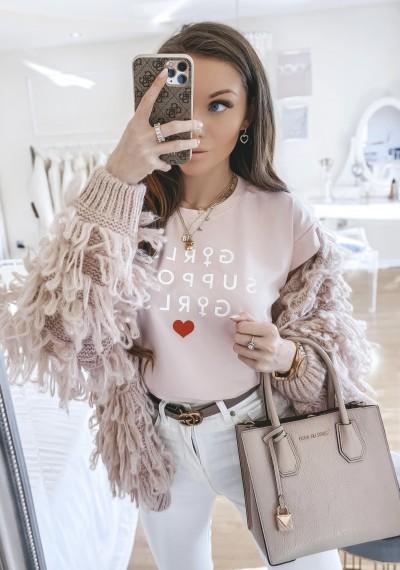 T-shirt GIRLS RÓŻ
