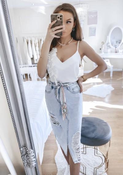 Spódnica GABI jeansowa midi