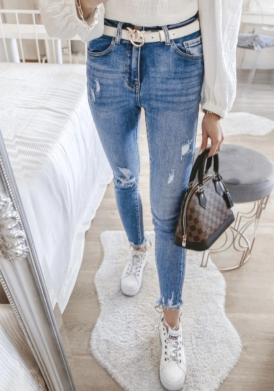 Spodnie jeansowe LORELL
