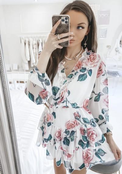 Sukienka JENNIFER kwiatowy print I