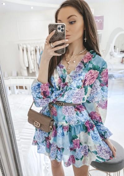 Sukienka JENNIFER kwiatowy print II 2