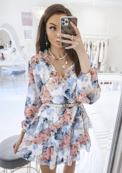 Sukienka JENNIFER kwiatowy print III