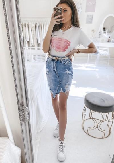 Spódnica ELLEN jeansowa asymetryczna 1