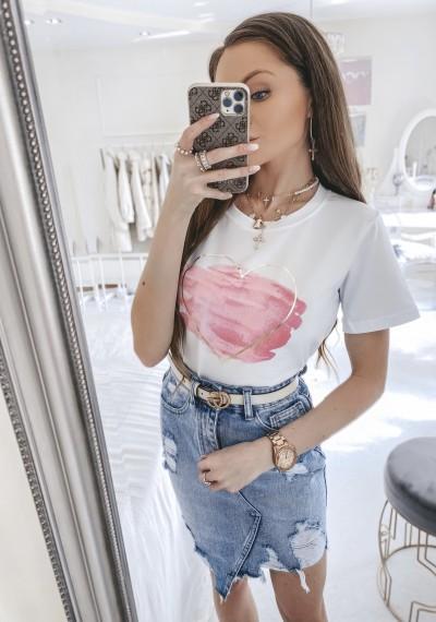 Spódnica ELLEN jeansowa asymetryczna 2