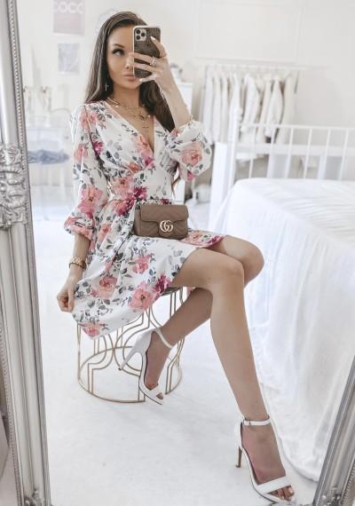 Sukienka ELLA w kwiatowy print 1