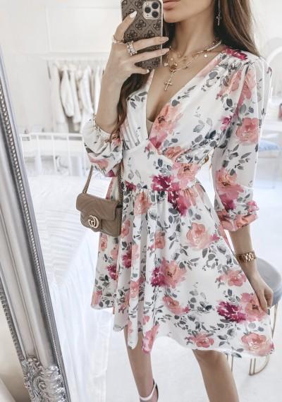 Sukienka ELLA w kwiatowy print 3