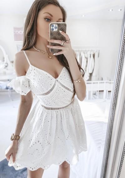 Sukienka EVA biała boho