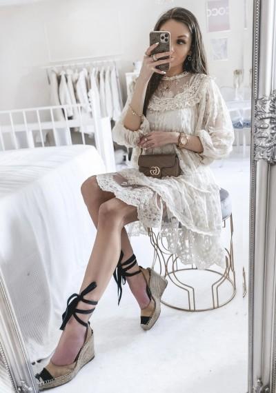 Sukienka MADISON koronkowa w stylu boho 2