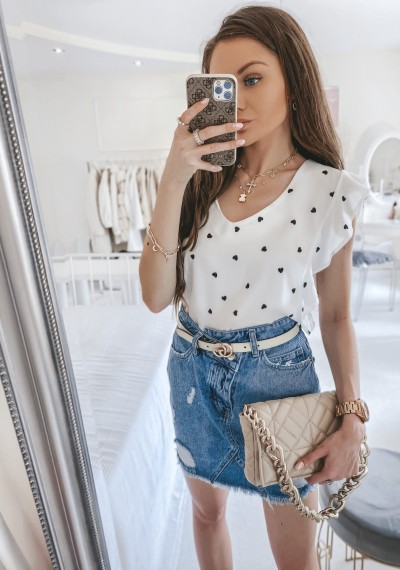 Spódnica LUISA jeansowa