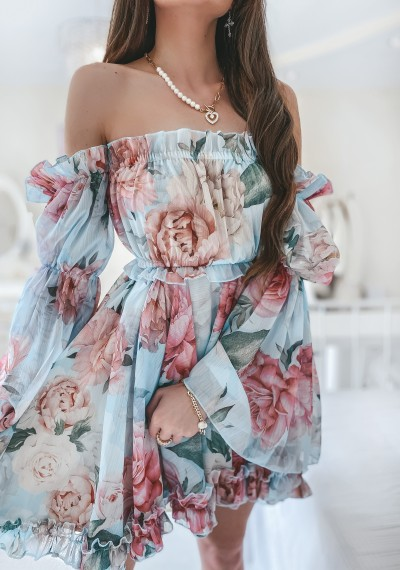 Sukienka KENDRA hiszpanka
