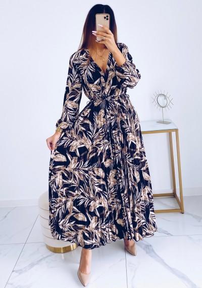 Sukienka CARMEN maxi w print DARK 3