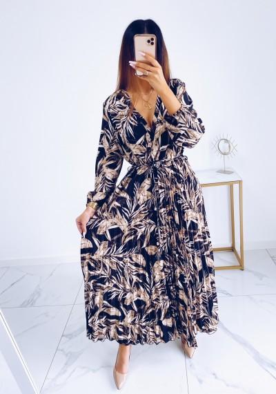 Sukienka CARMEN maxi w print DARK 4