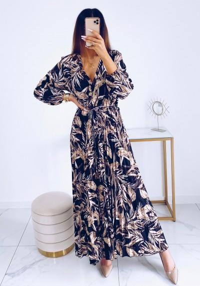 Sukienka CARMEN maxi w print DARK 5