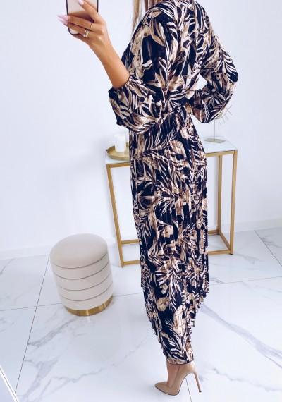 Sukienka CARMEN maxi w print DARK 6