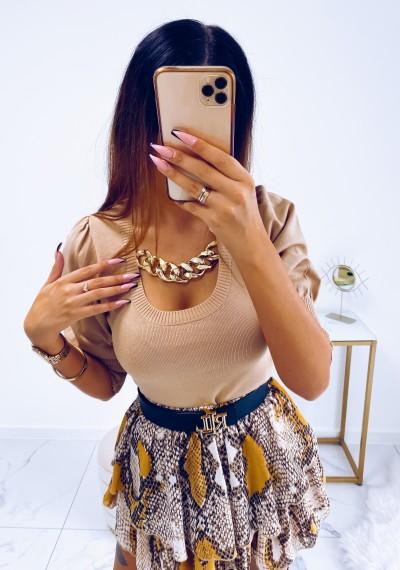 Bluzka CLARA z ozdobnym łańcuchem 5