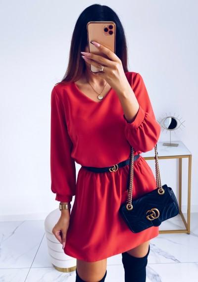 Sukienka SHARON Czerwona
