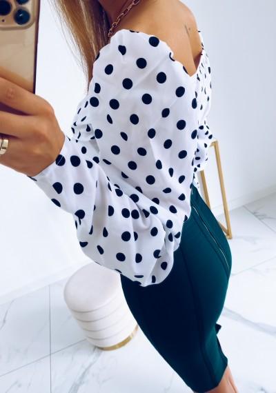 Spódnica TRISH bandażowa ZIELONA 8