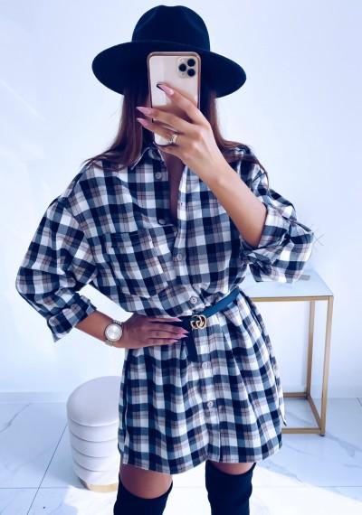 Sukienka/Koszula długa LOPEZ DARK
