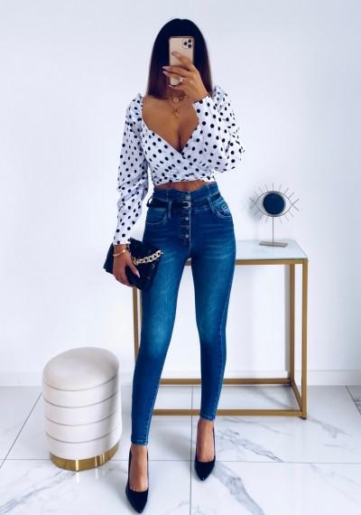 Spodnie jeansowe RENEY