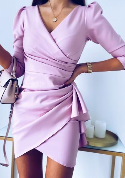 Sukienka SIMPLE różowa