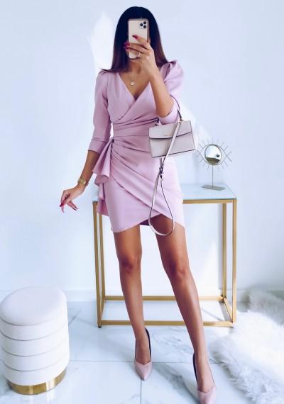 Sukienka SIMPLE różowa 8