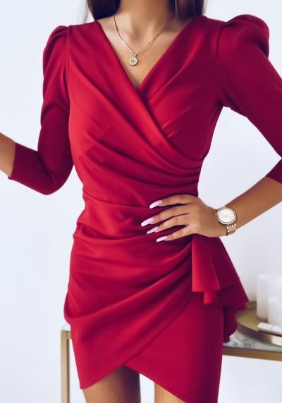 Sukienka SIMPLE MALINA