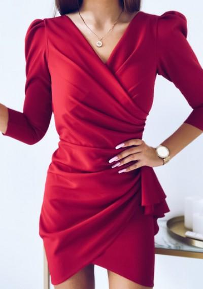 Sukienka SIMPLE MALINA 1
