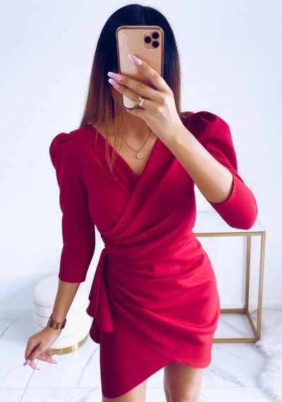 Sukienka SIMPLE MALINA 4