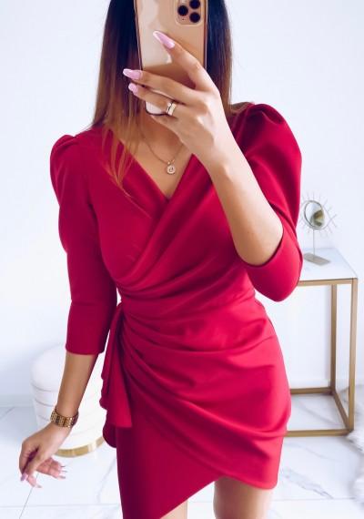 Sukienka SIMPLE MALINA 5