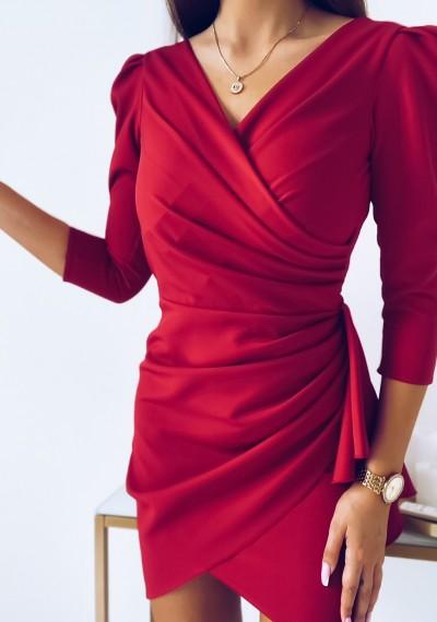 Sukienka SIMPLE MALINA 6