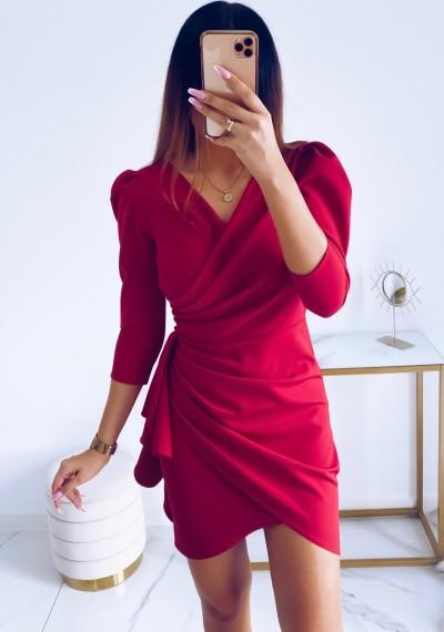 Sukienka SIMPLE MALINA 8
