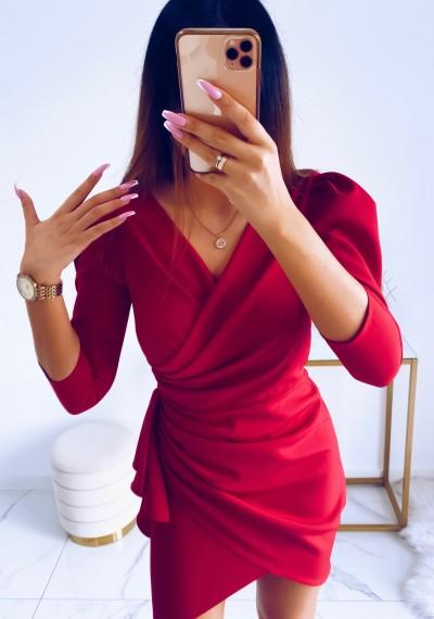 Sukienka SIMPLE MALINA 9