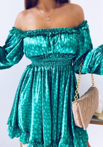 Sukienka MARISSA hiszpanka GREEN 2