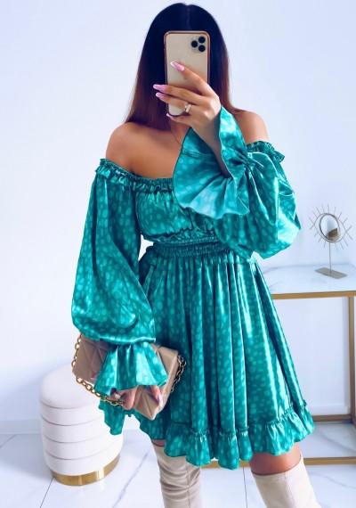 Sukienka MARISSA hiszpanka GREEN 5