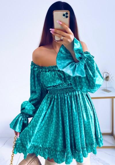 Sukienka MARISSA hiszpanka GREEN 10