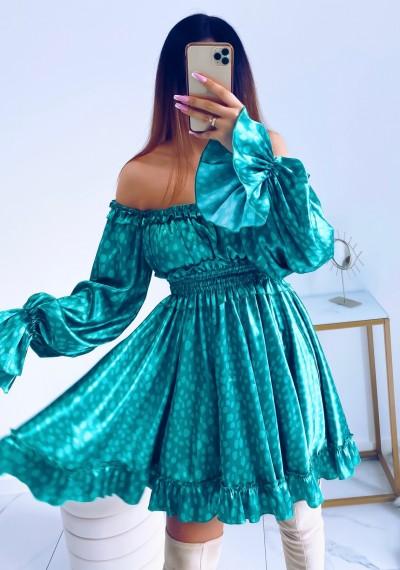 Sukienka MARISSA hiszpanka GREEN 11