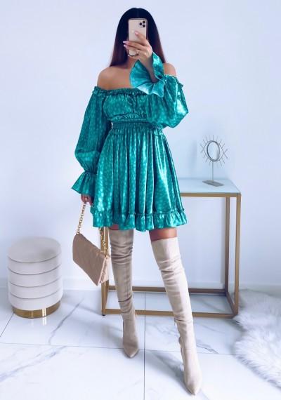 Sukienka MARISSA hiszpanka GREEN 12