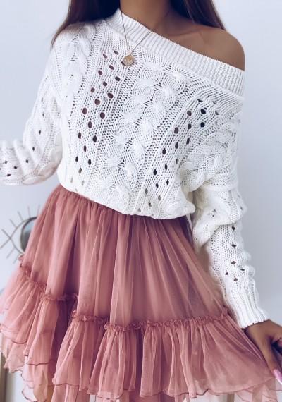 Sweter CORNELL ecru