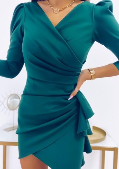Sukienka SIMPLE ZIELONA