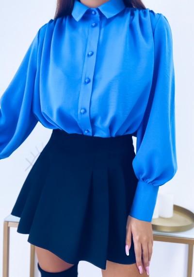 Koszula NICOLE niebieska