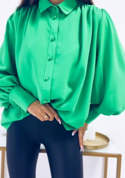 Koszula NICOLE zielona